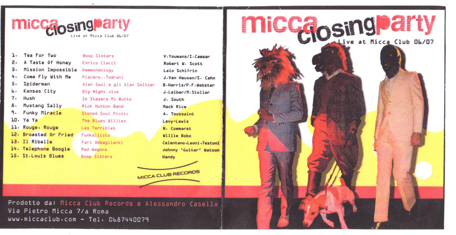 micca closing party